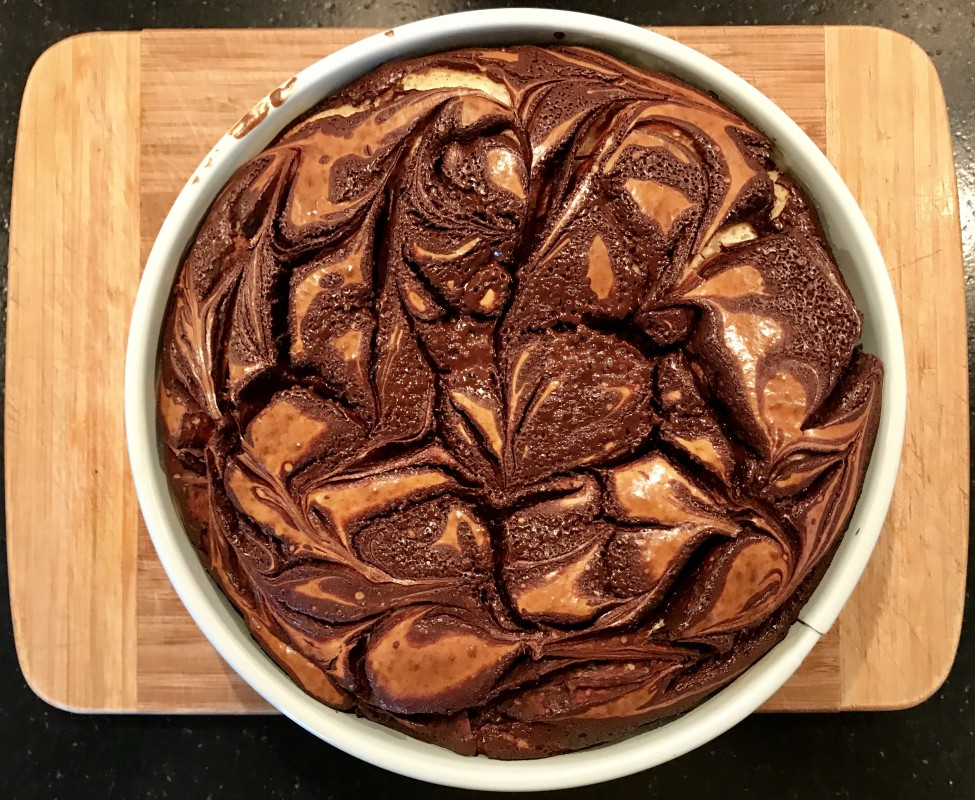Cheesecake met chocola 2