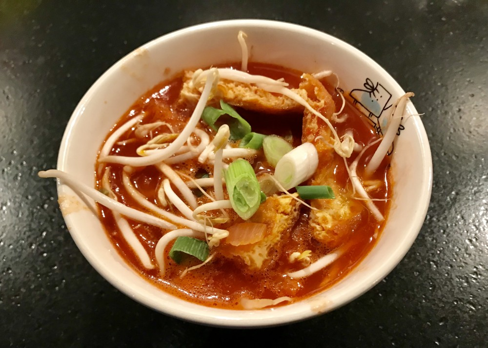 Zoetzure Chinese tomatensoep