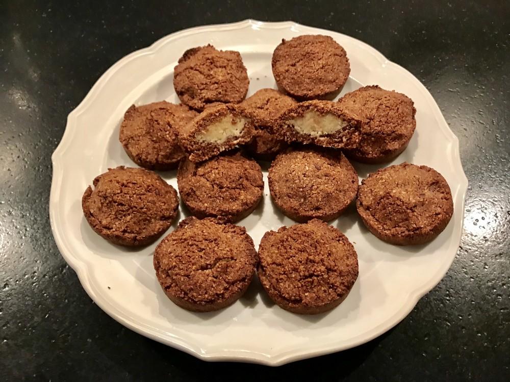 Speculaas met amandelspijs muffins