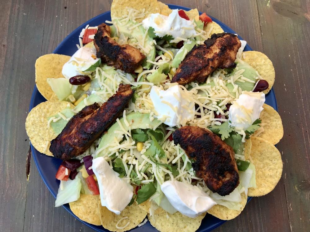 Mexicaanse maaltijdsalade